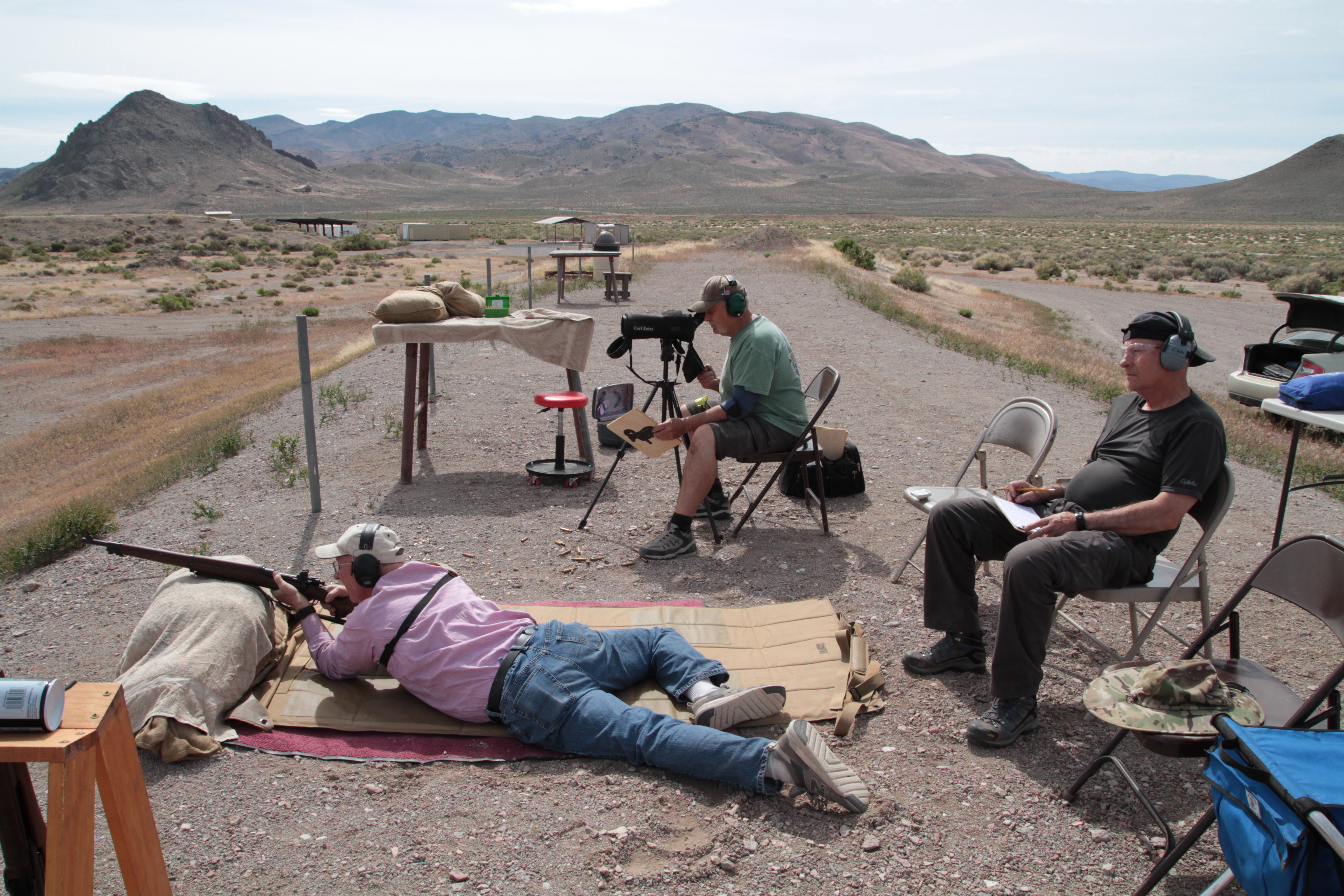 Palomino Valley Gun Club Military Silhouette 2020-05-16